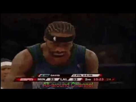 Ricky Davis 33 pts vs. Lakers 2006-2007