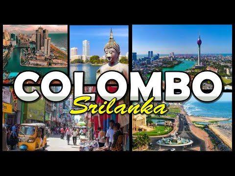 COLOMBO City - Sri Lanka (4K)