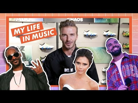 David Beckham Interview: My Life In Music | MTV Music