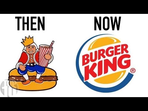 Thumbnail: 10 Famous Logos Then And Now