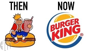 10 Famous Logos Then And Now