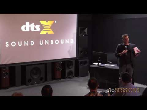 DTS:X Creator Suite with Chris M. Jacobson pt. 1   proSESSIONS at Westlake Pro