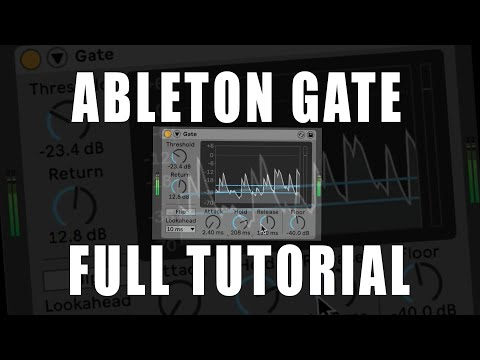 Ableton Gate Tutorial from YouTube · Duration:  21 minutes 48 seconds