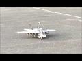 ラジコン機 F16の飛行映像を実機のエンジン音で編集してみた。