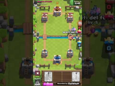 Clash Royale partita vergognosa