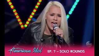 "Gabby Barrett: Sings Her HEART Out For Her Dad Who ""Cleans Toilets"" 