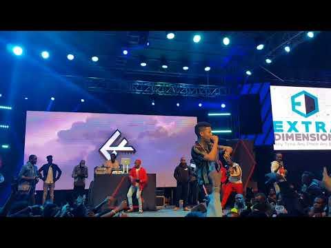 Nasty C Full Performance at The Kaya Festival Nairobi