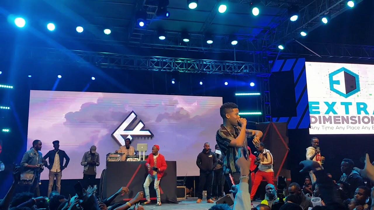 Download Nasty C Full Performance at The Kaya Festival Nairobi