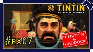 ANIME GAMES - The Adventures of Tintin - Tintin & Haddock #Ex07 [PC - EN-PT] - Gameplay