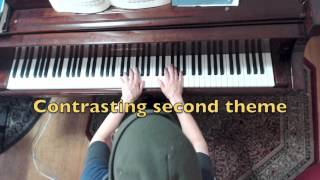 Piano Instruction: W.A. Mozart Sonata No. 5 in G, K. 283, movement 1, Allegro