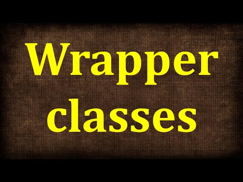 Java Tutorial # 20   Integer, Double, Float -Wrapper Classes in Java