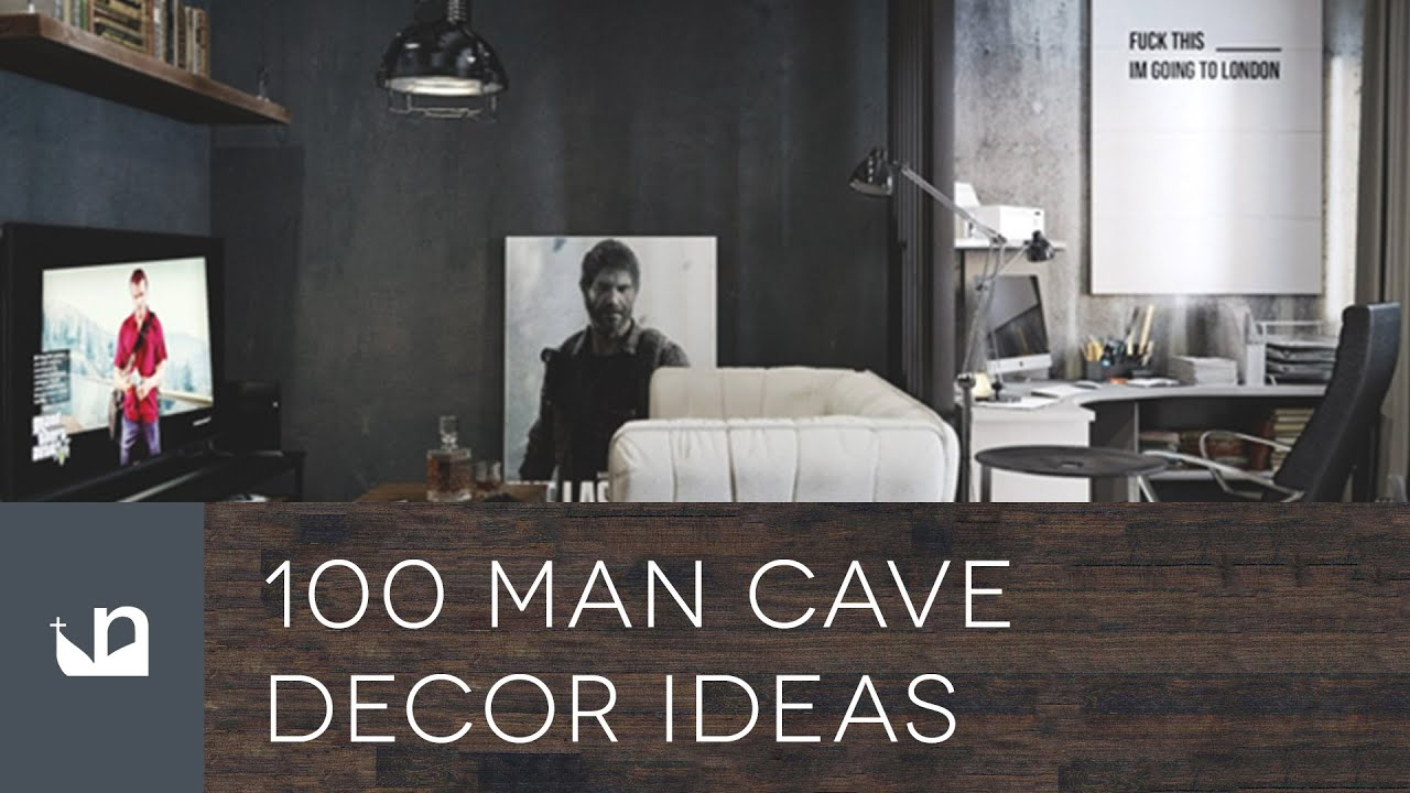 If you buy from a link, we may earn a com. 100 Man Cave Decor Ideas For Men - YouTube