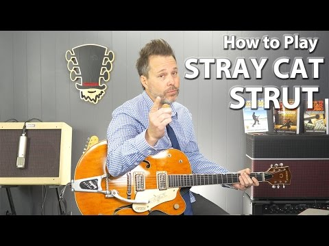 How to Play Stray Cat Strut by the Stray Cats