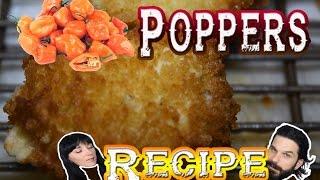Habanero Bacon Poppers - RECIPE