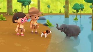 Leo The Wildlife Ranger Minisode #122 - Asian Elephant