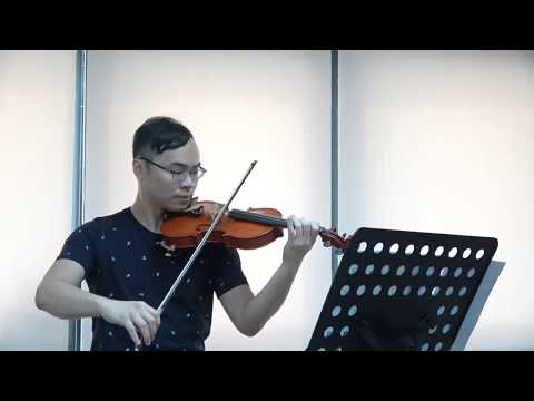 70th Hong Kong Music Festival Grade 1 Violin (N210) - Finale from the 'Water Music'