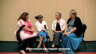 Massage Research with Tiffany Field, Angie Patrick, CG Funk and Lynda Solien Wolfe