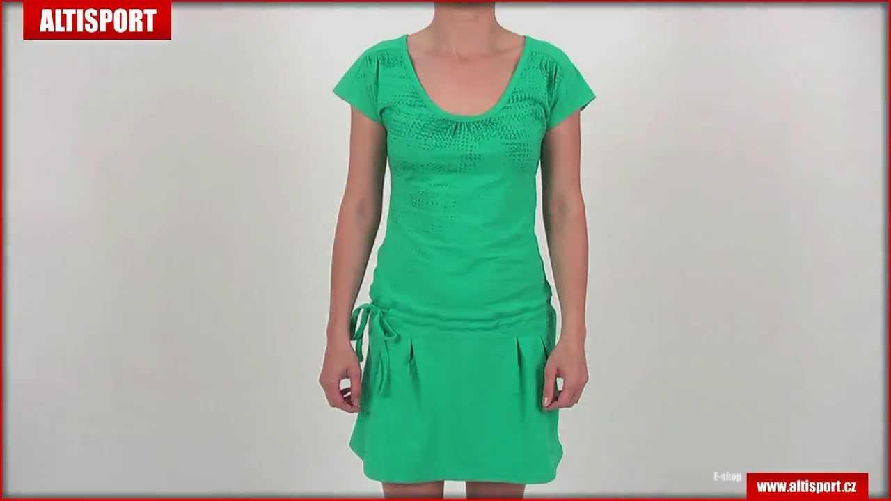 Dámské bavlněné šaty LOAP SESSY CLL1321 - YouTube ca6563395e