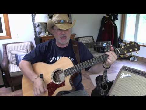 1269 -  Should've Been A Cowboy -  Toby Keith cover with guitar chords and lyrics