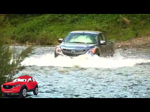 Mazda BT-50 A to BT-50: Day 2 - River Crossing