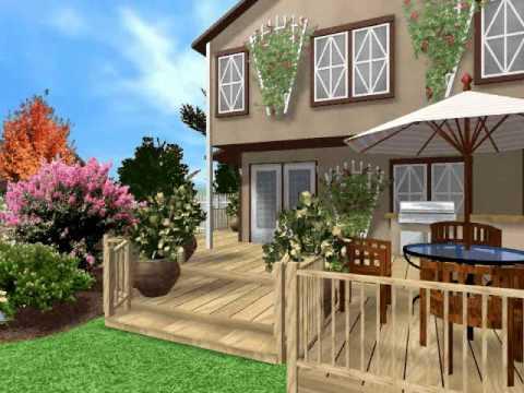 видео: landscaping. Ландшафтный дизайн своими руками