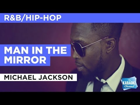 Man In The Mirror in the style of Michael Jackson | Karaoke with Lyrics