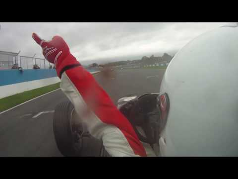 CHAMPION! 750MC Formula Vee Donington Park race 2 2017