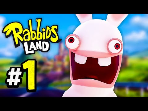 Rabbids Land - Episode 1 - Welcome to BWAAAH! (4-Player)