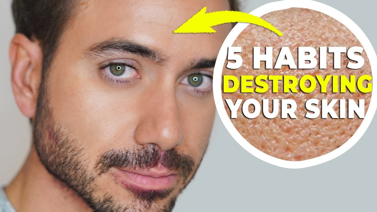 5 Habits DESTROYING Your Skin Right Now! l Alex Costa