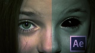 After Effects como hacer Demon Eyes (Ojos Demonio)