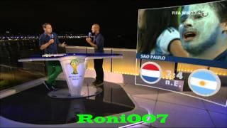 WM 2014 : Mehmet Scholl stichelt gegen van Gaal - Niederlande -- Argentinien 0:0 (2:4 nE )