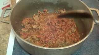 Spanish Beef Stew & Yellow Rice With Corn