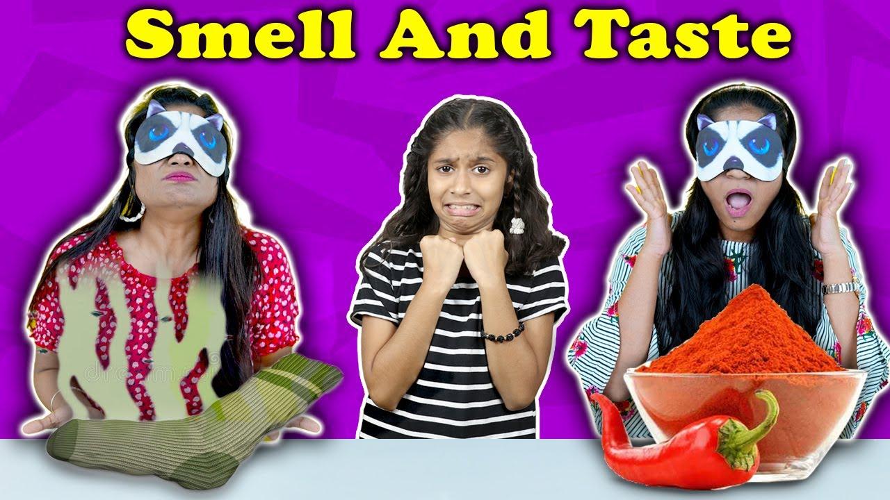 Download Smell Or Taste Challenge | Fun Challenge Video | Pari's Lifestyle