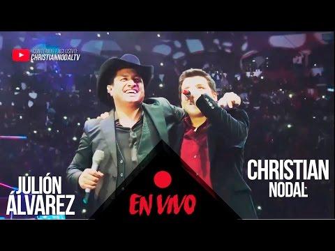 Adiós Amor - Christian Nodal Ft. Julión Álvarez | EN VIVO