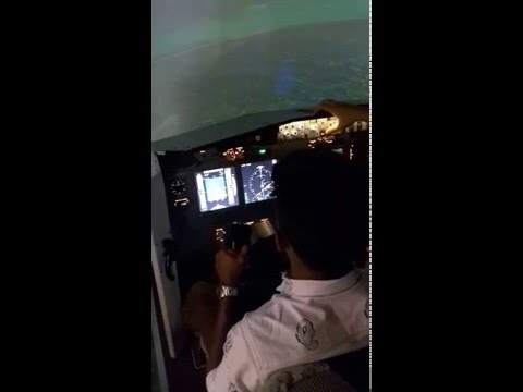 Simflightkl Malaysia (Boeing B737 Simulator (Part 1))
