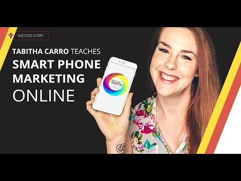 How to Create & Promote Online Courses With A Smartphone | Thinkific Success Story: Tabitha Carro