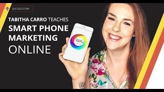 Wie Schaffen & Fördern, Online-Kurse, die Mit Einem Smartphone | Thinkific Erfolgsgeschichte: Tabitha Carro