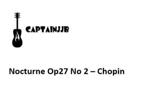 Chopin - Nocturne In Db Major Op27 No 2 - Edited Midi/Electronic Version