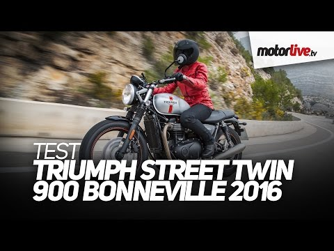 Test Triumph Street Twin 900 Bonneville 2016 лучшие приколы