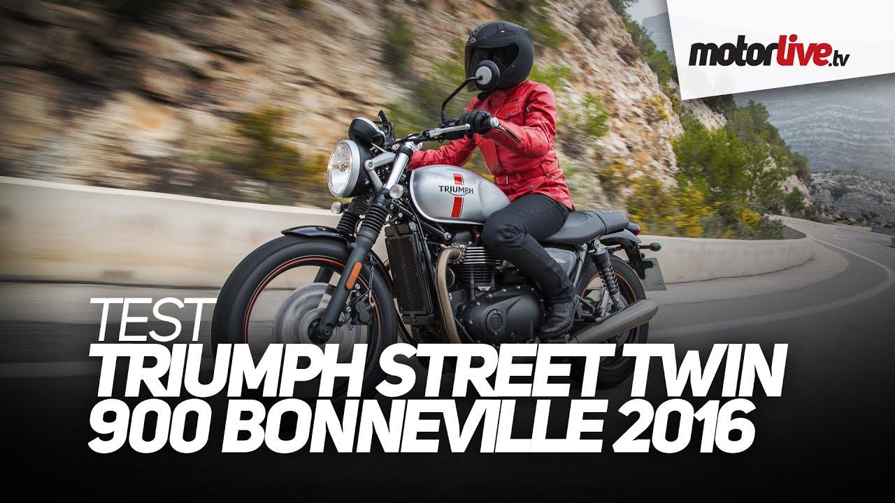 Essai Triumph Bonneville Street Twin