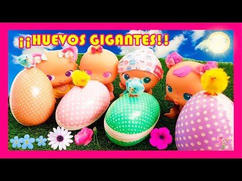 BELLIES BABIES ABREN HUEVOS DE PASCUA GIGANTESVIDEOS DE BELLIES EN ESPAOL