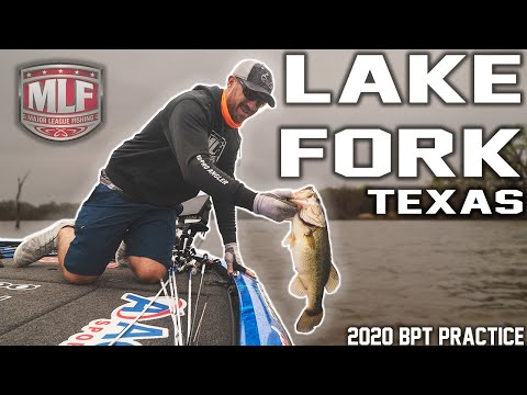 Major League Fishing Practice VLOG - Lake Fork 2020