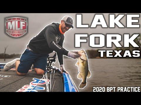 Major League Fishing Practice VLOG - Lake Fork 2020