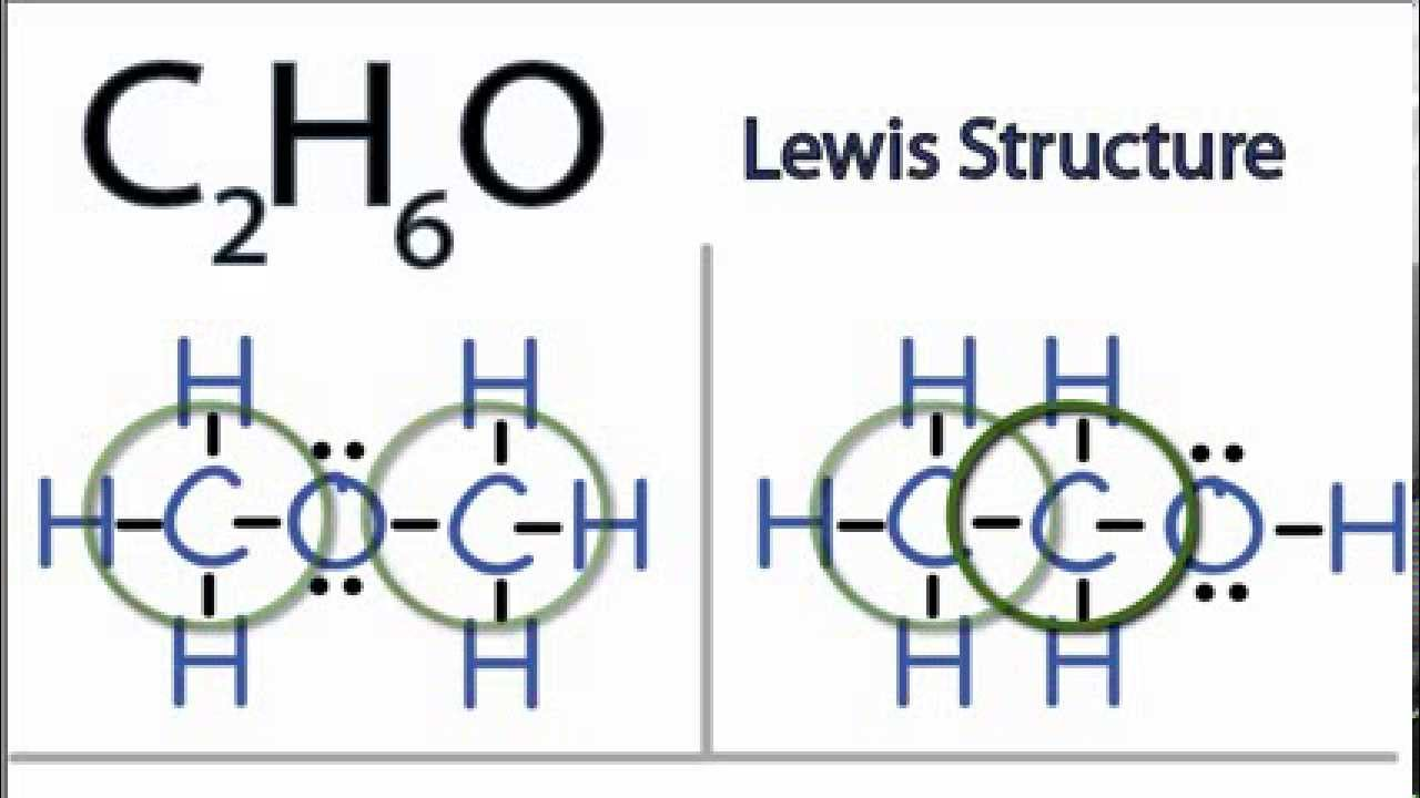 C2H6O Lewis Structure: How to Draw the Lewis Structure for ...