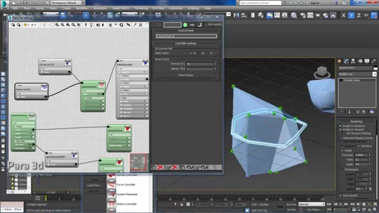 Download Convex hull 2d and 3d