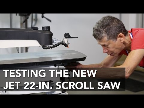Jet 22-in. Scroll Saw Overview - Jet JWSS-22