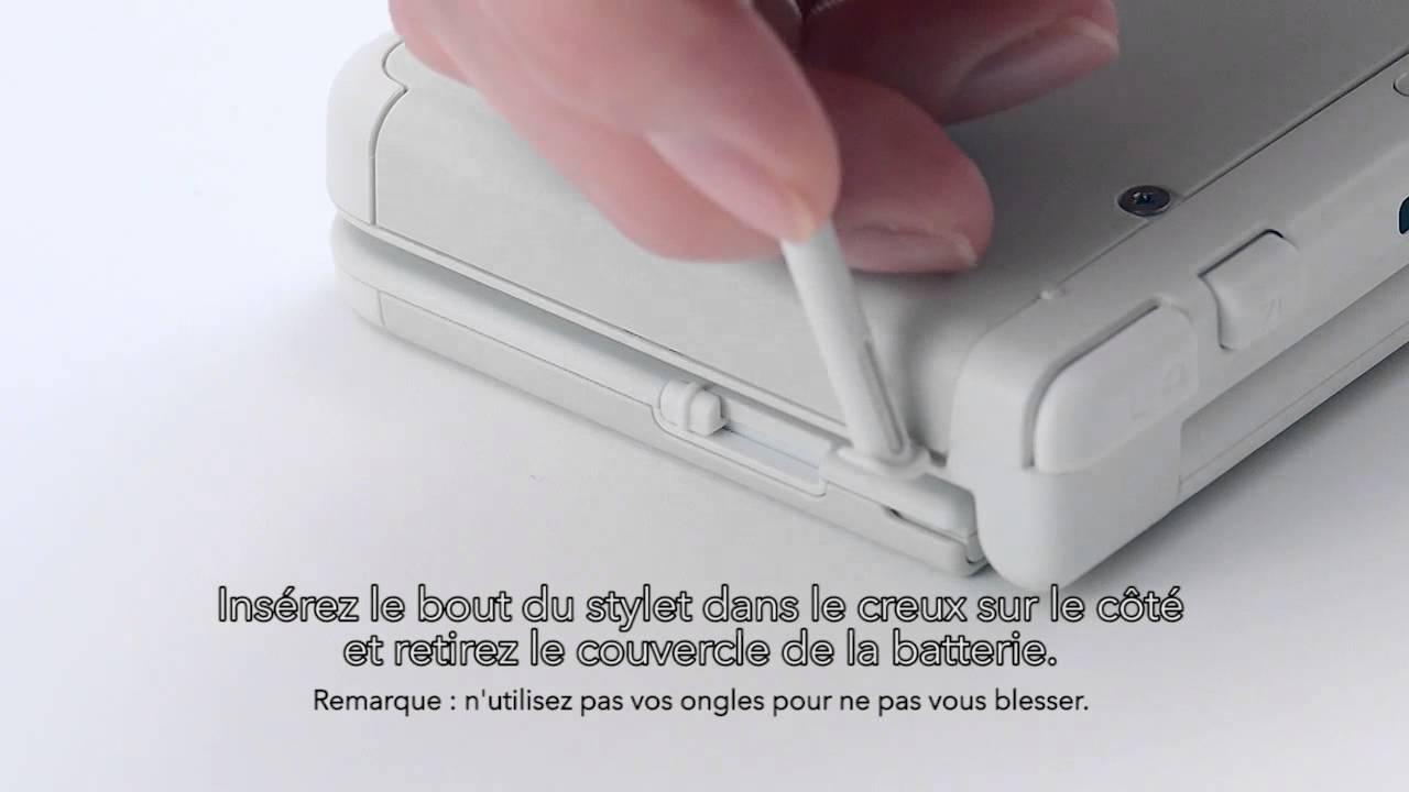 carte sd new 3ds xl New Nintendo 3DS   Comment changer la carte microSD   YouTube
