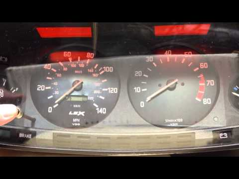 Electronic BMW speedo conversion for 1981 E12 LSx Swap