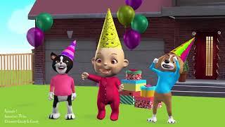 おかしいキッズ   ジョニー・ジョニー・ババ   一緒に   子供ビデオトレーニング2018 #37