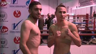 Weight-in Haroon Khan steps up to 8rds and tops the bill in Wigan